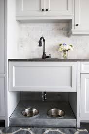 Lakeside Cabinets Dog Bowls Under Mudroom Sink Lakeside Residence Martha O U0027hara