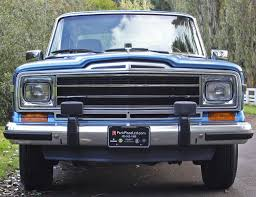 jeep grand cherokee front grill a look back at the 1963 u2013 1991 jeep wagoneer a guide to year to