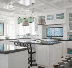 kitchen style stainless steel appliances black granite