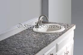 tile bathroom countertop ideas mosaic tile countertop bathroom design of your house its