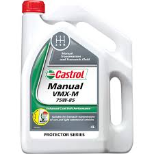 castrol vmx m transaxle u0026 manual transmission fluid 75w 85 4
