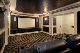 home theater in small room small home theater idea with cozy seating techethe com