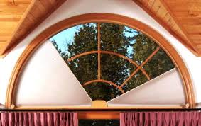Half Moon Window Curtains Arched Window Treatments Adjust A View Moveable Arches By Omega