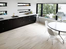 natural light floor l modern dark wood kitchen with light floor ideas and inspirations