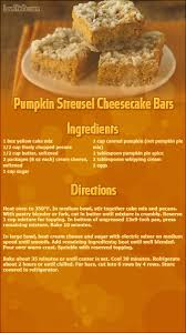 pumpkin streusel cheesecake bars thanksgiving recipes thanksgiving