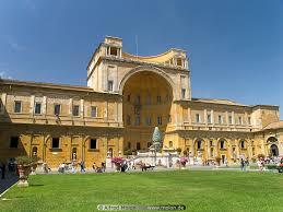 cortile della pigna belvedere palace and cortile della pigna photo vatican museums