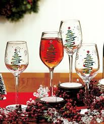 wine glass christmas ornaments best 25 christmas wine glasses ideas on christmas