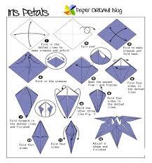 origami orchid tutorial flowers origami iris flowers paper origami folding diagram on
