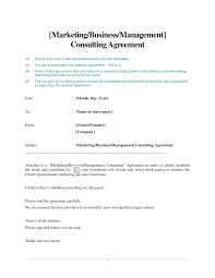 management consulting agreement template files in catalog
