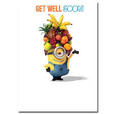 feel better cards get well soon minions card minion shop