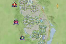 walt disney resort map walt disney park and resort maps