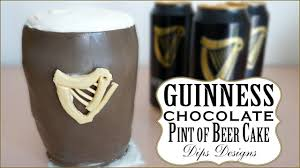 guinness chocolate pint of beer cake cake decorating ideas youtube
