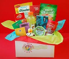 sick care package for cold flu survival kit college student care package gifts