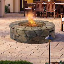 outdoor gas fireplace ebay