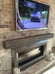 driftwood fireplace mantel fujise us