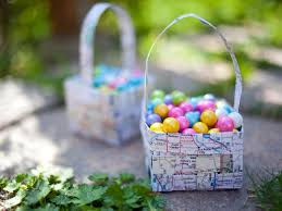 Easy Easter Decorations To Make At Home How To Make A Easter Basket Home Interiror And Exteriro Design