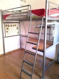 hauteur bureau ikea lit en hauteur 1 place lit mezzanine 1 place bureau integre lit