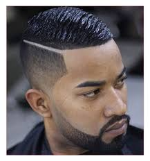 simple haircuts for men or black men haircuts taper and hard part