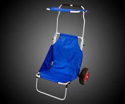 Rolling Beach Chair Cart Folding Beach Chair U0026 Roller Cart Dudeiwantthat Com