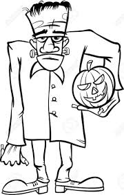 Halloween Frankenstein Coloring Pages 723 Best Projects To Try Images On Pinterest Frankenstein