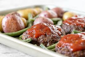 mini meatloaf cooking light sheet pan recipe for a mini meatloaf dinner live laugh rowe