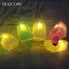 decorative lights for home delicore 10 led popsicle string lights light decorative