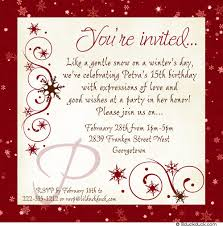quinceanera invitation wording snowy chic quinceanera invitation memorable birthday party