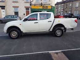 mitsubishi l200 pick up white manual lwb dubale cab 0 owner on the