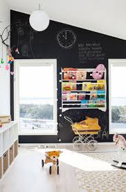 best 25 chalkboard wall playroom ideas on pinterest framed how much fun would your kids have with this full black chalkboard wall in a