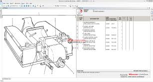 mitsubishi forklift parts warehouse equipment 2014 auto repair