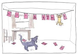 cat and dog birthday card jemima kingsley
