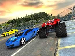 superheroes trucks car garage monster crazy car vs monster racing 3d android apps on google play