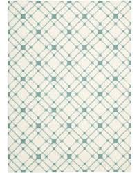 Graphic Area Rugs Find The Best Deals On Nourison Milford Ivory Turquoise Graphic
