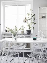 Best Kitchen Dining Images On Pinterest Home Kitchen And - All white dining room