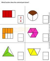 fun fractions fractions math worksheets and third grade
