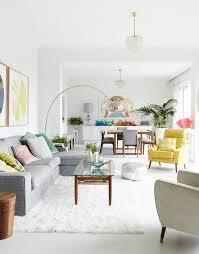 idée de canapé idée déco salon avec des coussins de canapé