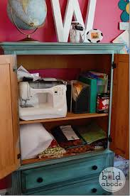 sewing armoire 3 creative storage solutions baby