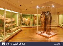 Ancient Egypt Interior Design Ancient Egypt Display In The National Museum Of Denmark In Stock