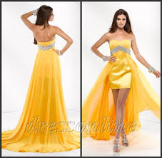 yellow prom dresses holiday dresses