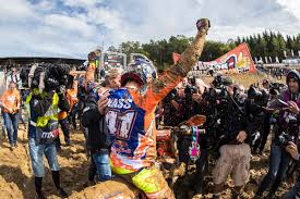history of motocross racing jonass makes mx2 fim world championship history at muddy final