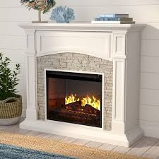 Infrared Electric Fireplace Beachcrest Home Cameron Infrared Media Electric Fireplace