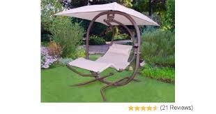 Patio Furniture Canopy Amazon Com Sunset Swings 421l Two Person Lounge Swing Porch