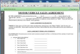 10 best images of vehicle sales agreement template business