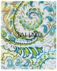 big deal on tahari cotton blend shower curtain watercolor hayden