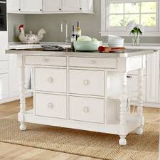 kitchen island stainless stainless steel kitchen islands carts you ll