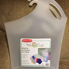 rubbermaid wrap n craft best rubbermaid wrap n craft gift bag tote for sale in oshawa