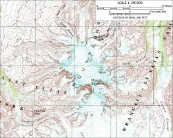 Alaska Topo Maps by Skiing The Pacific Ring Of Fire And Beyond Mount Sanford