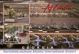Atlanta Airport Terminal Map Atlanta Airport In The 1990s Sunshine Skies