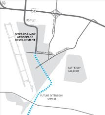 Lackland Afb Map New Road Bolsters Regions U0027s Aerospace Logistics Opportunities