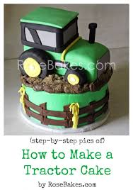 tractor cake topper how to make a tractor cake